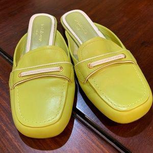 Vintage Lime Green Slippers / Slip-ons 💛💚